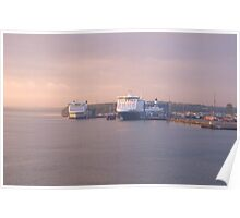 Finnlines Ferries Before Sunrise Poster