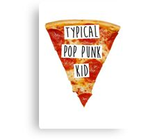 Typical Pop Punk Kid Canvas Print