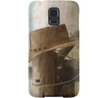 Traces Of A Cowboy... Free State, South Africa Samsung Galaxy Case/Skin