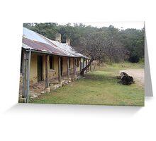 Old house at Hartley Greeting Card