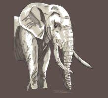 Spirit of Elephant - Shamanic Art T-Shirt