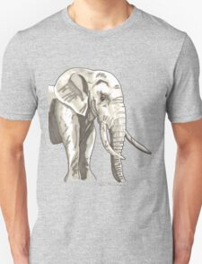 Spirit of Elephant - Shamanic Art Unisex T-Shirt