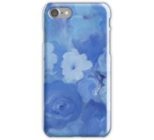 Comfort Blue Floral iPhone Case/Skin