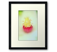 Touching - JUSTART © Framed Print
