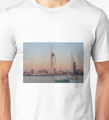 Spinnaker Tower at Sunset Unisex T-Shirt