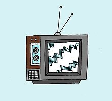 Retro Television by Liana Spiro