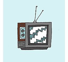 Retro Television Photographic Print