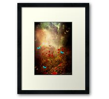 Spring is heading North... Framed Print
