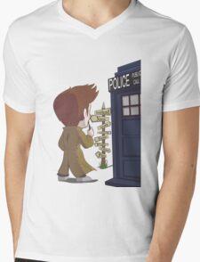 A Doctor's Decision Mens V-Neck T-Shirt