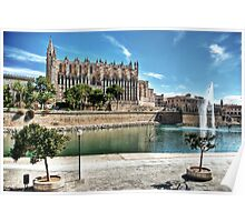 La Seu and the Parc de la mar Poster