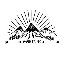 Mountains by Liana Spiro