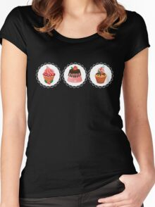 Sweets for my sweet Women's Fitted Scoop T-Shirt