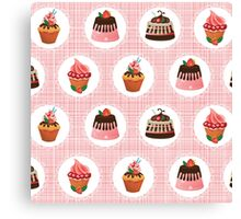 Sweets for my sweet Canvas Print