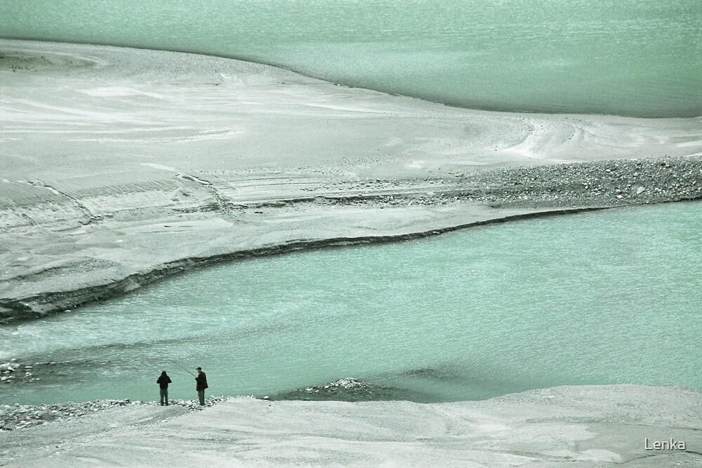 At the lake by Lenka