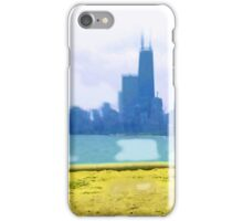 View of Chicago iPhone Case/Skin