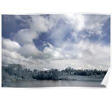 Roadford Lake Skyscape Poster