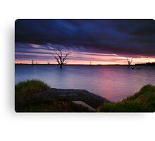Loch Luna Sunset Canvas Print