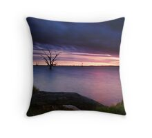 Loch Luna Sunset Throw Pillow