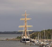 Tall Ship Passat by Malcolm Snook