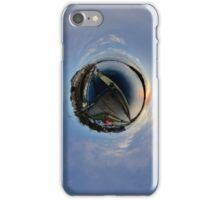 Foyle Marina at Dawn, Stereographic iPhone Case/Skin