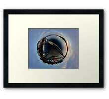 Foyle Marina at Dawn, Stereographic Framed Print