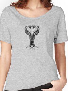 Alien Skull Women's Relaxed Fit T-Shirt