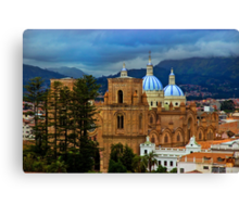 Angry Sky Over Cuenca Ecuador Canvas Print