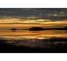 Harbor Sunset Photographic Print