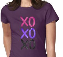Beautiful XO's  Womens Fitted T-Shirt