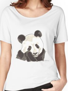 Spirit of Panda - Shamanic Art Women's Relaxed Fit T-Shirt