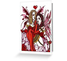 Fairy Hearts Greeting Card