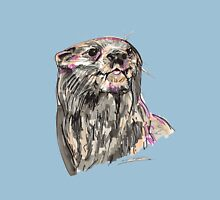 Spirit of Otter - Shamanic Art Unisex T-Shirt