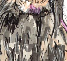 Spirit of Otter - Shamanic Art Sticker