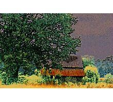 Rusty Tin Top Photographic Print