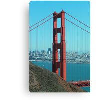 Golden Gate Bridge - North Side Canvas Print