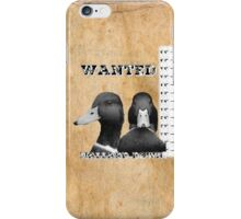 Wanted Duck - Mallard Down iPhone Case/Skin
