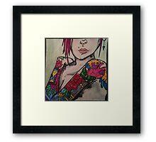 Unique tattoos and attitudes Framed Print