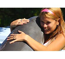 Dolphin love Photographic Print