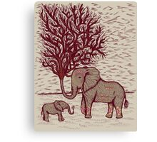 THE TALL TALE OF THE ELETRUNKS Canvas Print