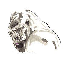 Spirit of Gorilla - Shamanic Art by Iank-as14