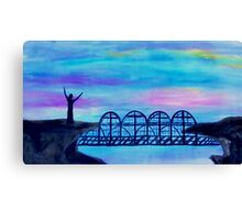 Bridge to Unbelievers by Gretchen Smith April 2008 Canvas Print