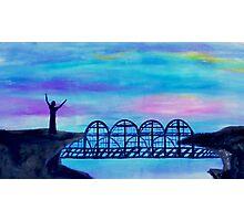 Bridge to Unbelievers by Gretchen Smith April 2008 Photographic Print