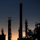 Petrochemical Sunset by Martijn Budding