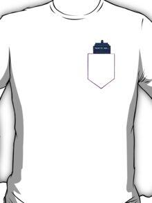TARDIS in a shirt pocket T-Shirt