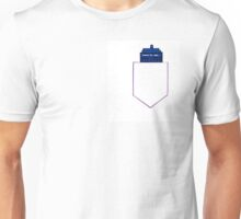 TARDIS in a shirt pocket Unisex T-Shirt