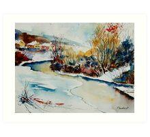 watercolor 280408 Art Print