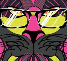 Lion Hipster 4 Sticker