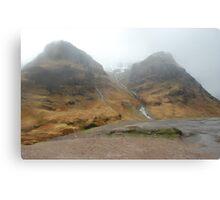 Glencoe in the Mist Canvas Print