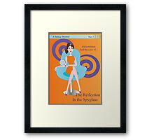 The Mystery of the Reflection in the Spyglass... Framed Print