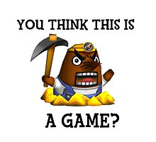 Resetti - You think this is a game?  by Harry Townend